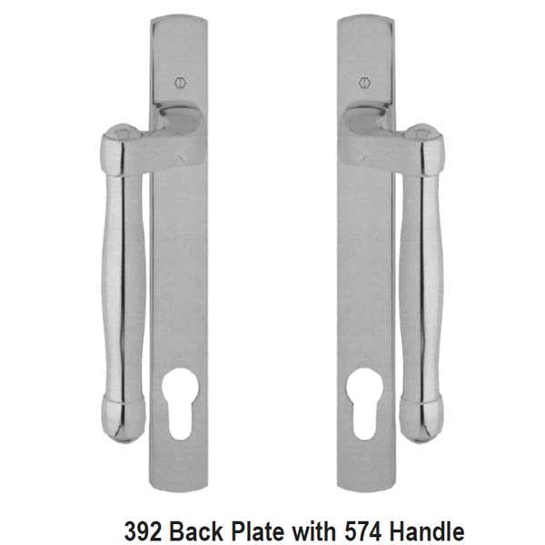Hoppe Fuhr Sliding Door Handle Set 8763255 850 8763255