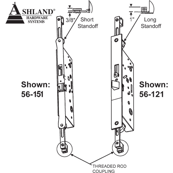 Ashland Ashland Multi Point Swing Door Lock 56 151
