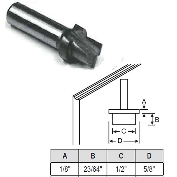 Hoppe Stepped Router Bit 59 69 59 69
