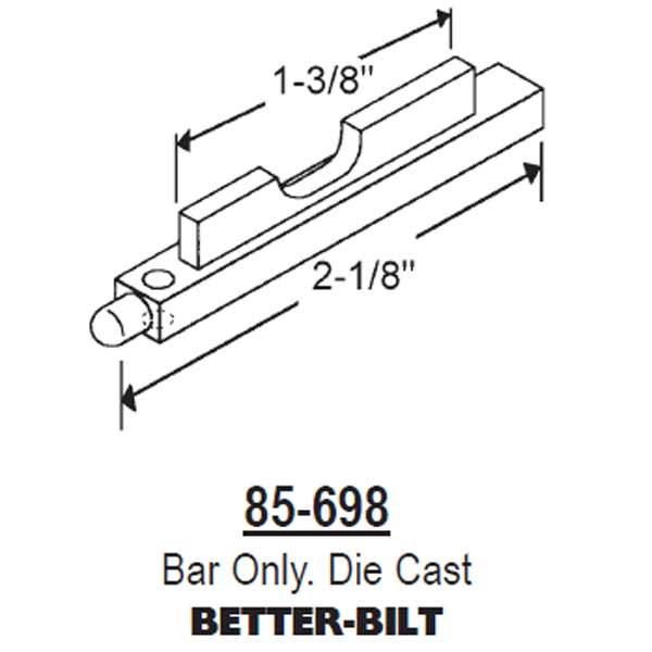 Better Bilt Traco Pivot Bar 85 698