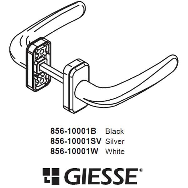 Giesse Giesse Handle 856 10001w 856 10001w
