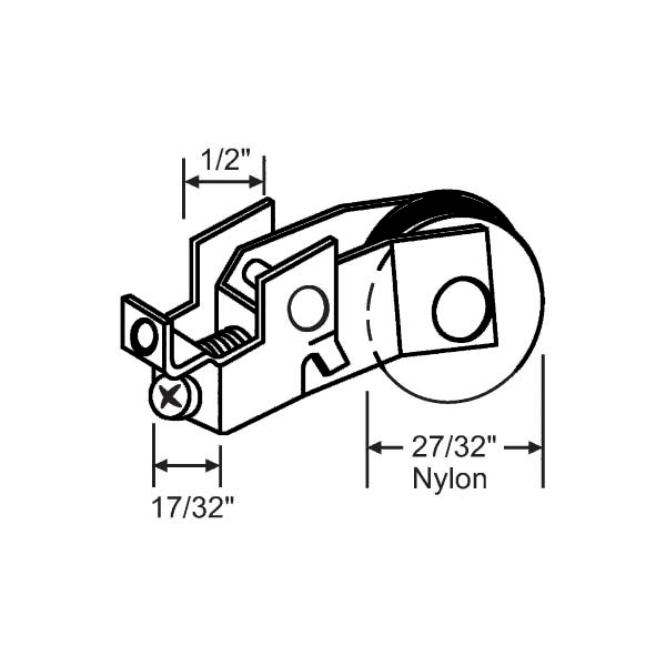 Traco Sliding Window Roller 9 291f