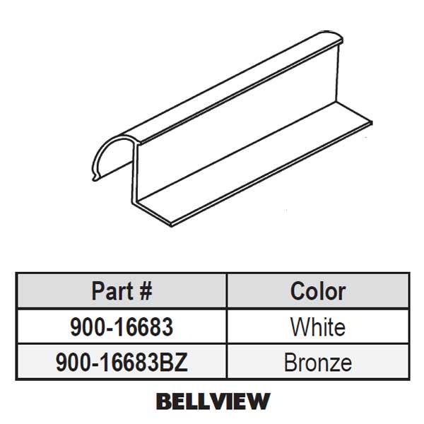 Vinyl Glazing Bead 900 16683 900 16683