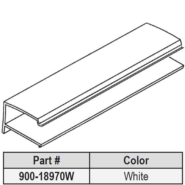 Strybuc Snap In Vinyl Glazing Bead 900 18970w 900 18970w