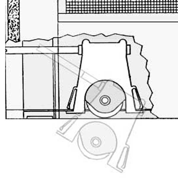 Andersen Andersen Screen Door Roller 750 1997310 750