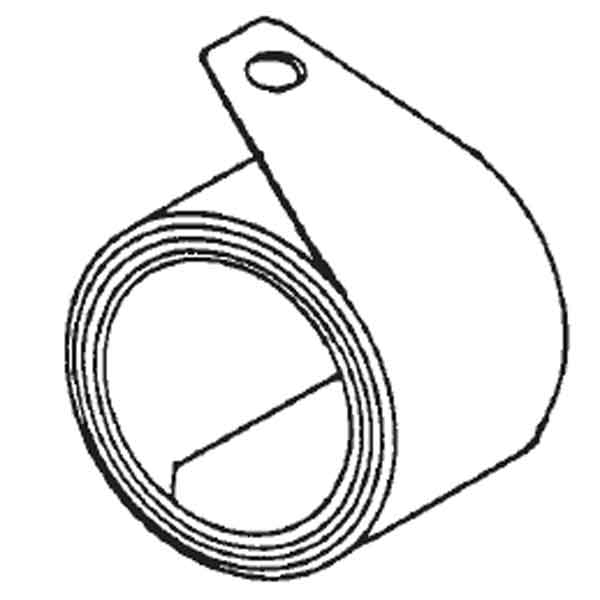 96-C Coiled Balance Spring