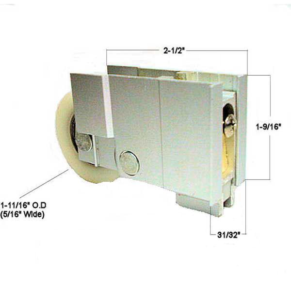 Patio Door Roller 900 22583