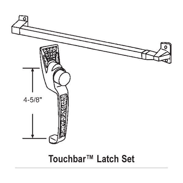 Ideal door hardware kit 17 63 3 for Ideal door parts
