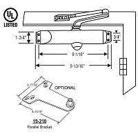 Entrance Door Closer 18-68
