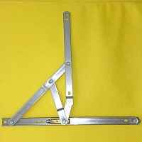 14 inch 401 Stainless Steel 4-Bar Hinge 28-14-12-0
