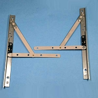 10inch Casement Hinge Arm - Track 28-15-72-set