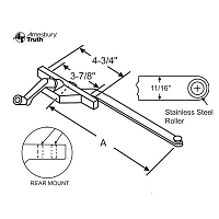 Rear Mount Casement Operator 36-226-10