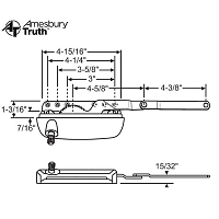 Sill Mounted Casement Operator 36-555-3
