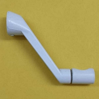 Casement Crank Handle Blue White 37-157BEW