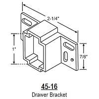Drawer Bracket 45-16