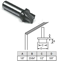 Stepped Router Bit 59-69
