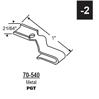 70 Series End Bracket 70-540