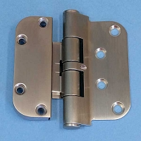 Hoppe Satin Nickle Left Hand Set Hinge 850-2972410