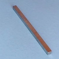 Solid Square Spindle 140mm x 8mm  Handle Spindle 519194