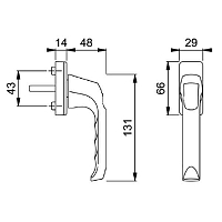 Window Handle 850-8148132
