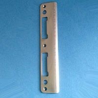 Stainless Steel Latch and Deadbolt Strike 8787747