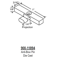 Anti-bow Pin 900-11894