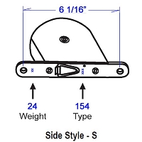 154 Side Style -S Tape Balance 96-97