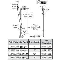 8 inch Friction Adjuster 28-8-9-00