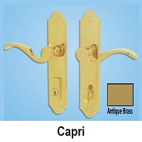 Capri Active Antique Brass Handle Set 854-16015