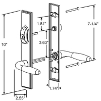 Swing Door Handles Sets