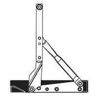 Top Hung Hinge Assembly