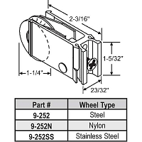 Patio Door Roller 9-252N