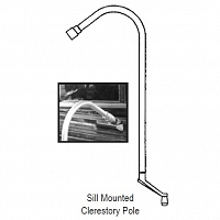 Sill Mount Clerestory Window Wand 39-104-9KD
