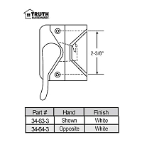 Casement Handle 34-63-3