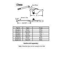 Rear Mount Casement Operators 36-241-3