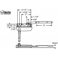 Sill Mounted Casement Operator 36-373-1