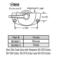 Sweep and Sash lock 50-842-1