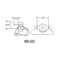 Custodial - Vent Lock 900-1221