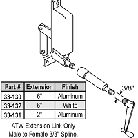 ATW Ext 2 inch  Length Al 33-131
