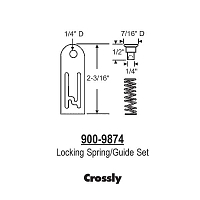 Crossly Locking Spring-Guide 900-9874