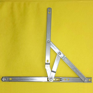 12 inch 401 Stainless Steel 4-Bar Hinge 28-12-12-0 3