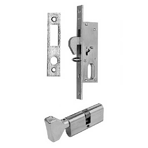 Iseo Mortise Lock and Cylinder 56-627CPBR-Plus 2