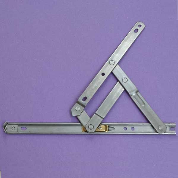 10inch Anderberg 201 Stainless Steel Hinge with Stop 28-10-2-07 1