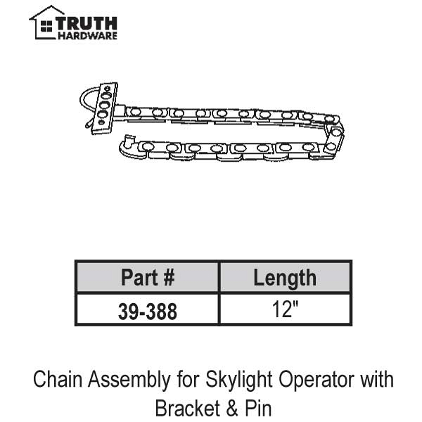 12inch Chain Assembly  39-388 1