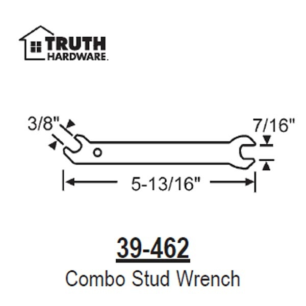 Adjustable Stud Wrench 39-462 1