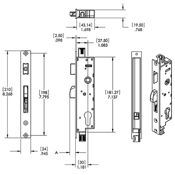 Multipoint Lock 56-124 1