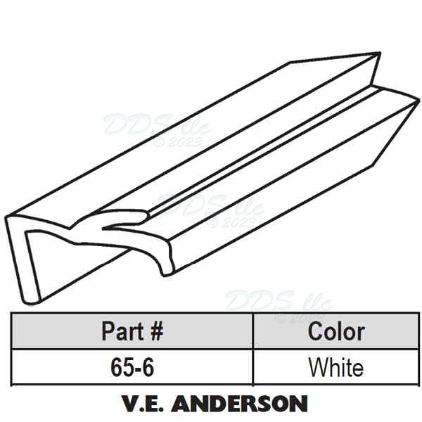 Andersen Snap In Vinyl Glazing Bead 65 6 65 6