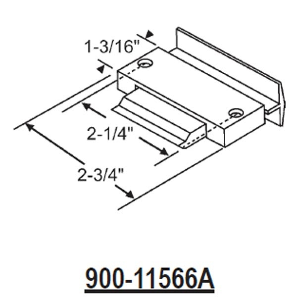 Latches-Spring Type Slider 900-11566A 1