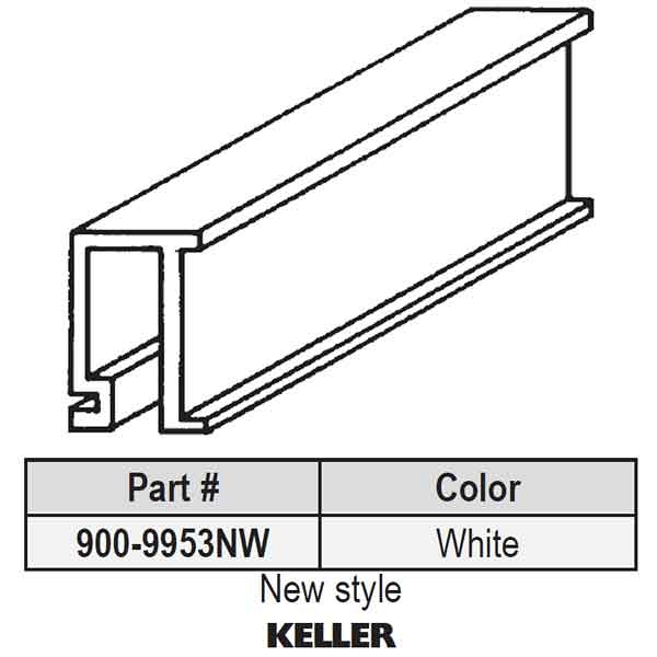 Keller Snap In Vinyl Glazing Bead 900 9953new 900 9953new
