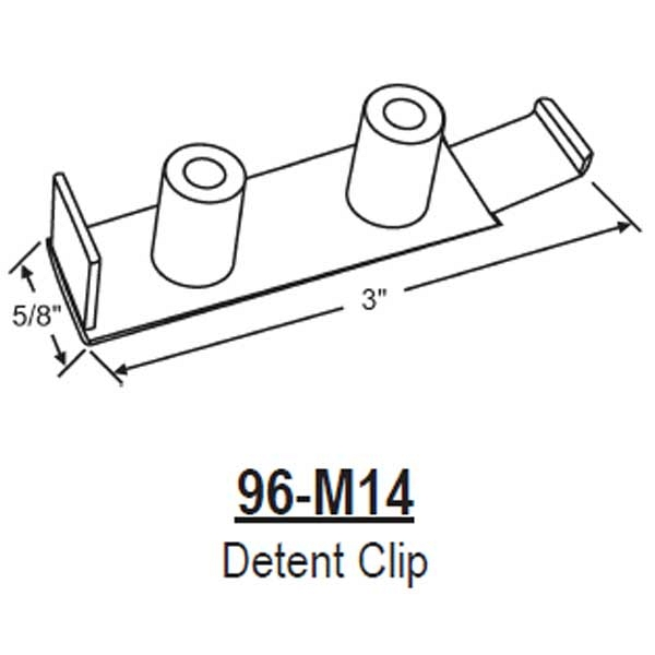 In House Detent Clip 96 M14 96 M14